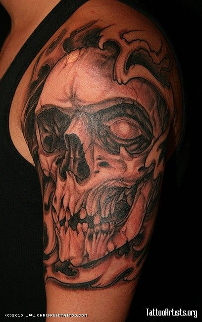 Best 25+ Skull Sleeve Tattoos ideas that you will like on ...