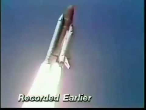 The Challenger Disaster CNN Live Coverage 11:00 A.M - 12:00 P.M