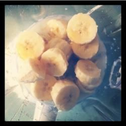 Basic banana smoothie @ allrecipes.co.uk