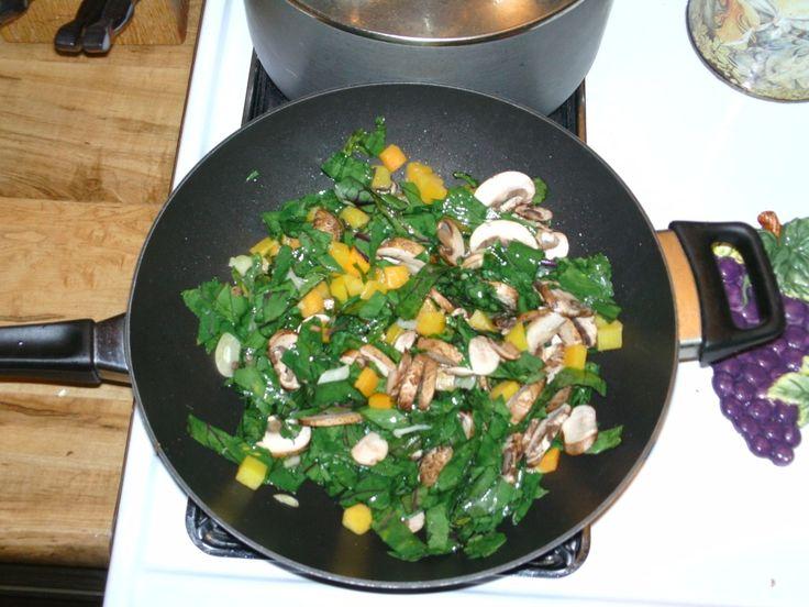 Kohlrabi Greens recipe