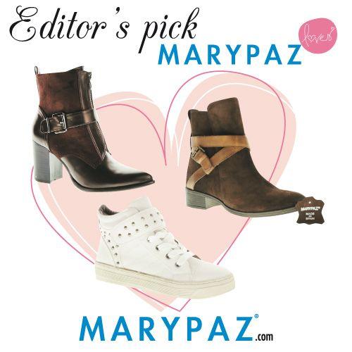Editor's Pick ...  MARYPAZ recomienda ....  Online Store  ► www.marypaz.com