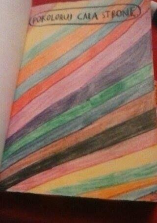 Podesłała Basia Modzelewska #zniszcztendziennikwszedzie #zniszcztendziennik #kerismith #wreckthisjournal #book #ksiazka #KreatywnaDestrukcja #DIY