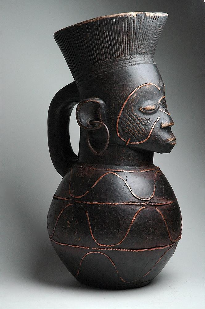 Africa | A vessel from the Mangbetu people of DR Congo