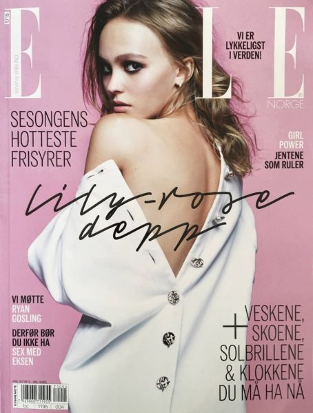 Lily-Rose Melody Depp - Elle Magazine Cover [Norway] (April 2017)