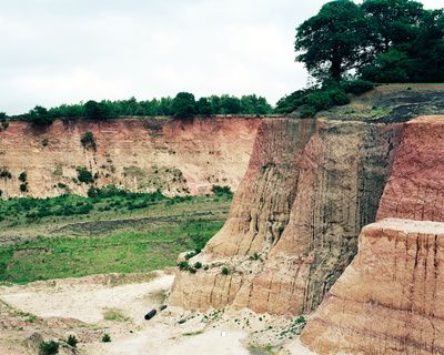 Storrington West Sussex. 2008. Fokestone Beds., photo by richard chivers
