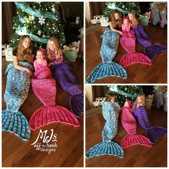 Mermaid blanket.