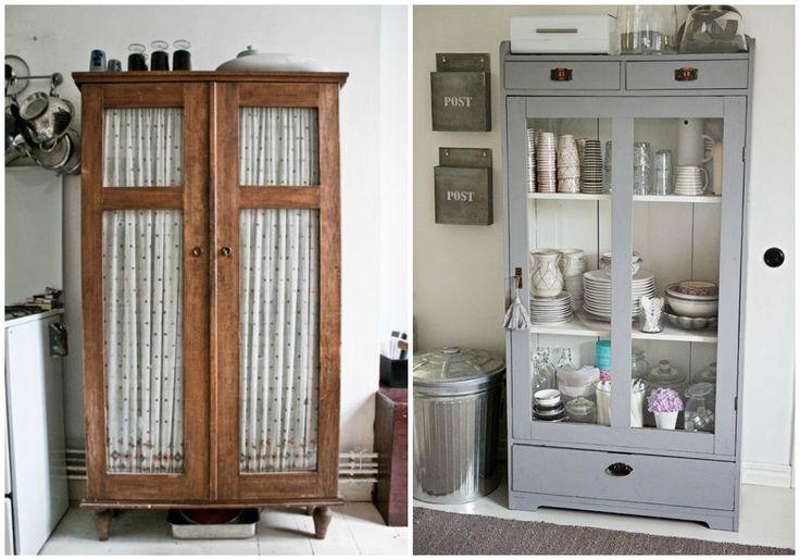17 mejores ideas sobre armarios de cocina pintados en - Armarios antiguos pintados ...