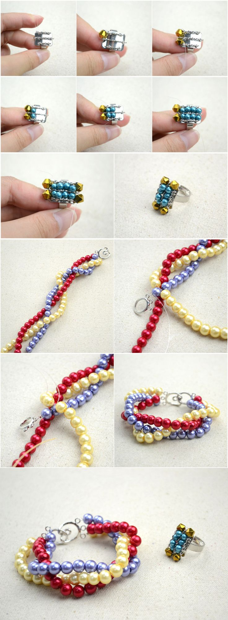 tutorial on handmade beaded jewelry designs simple pearl