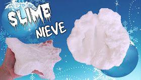 El Cómo de las Cosas: Cómo hacer slime de nieve para Navidad sin borax