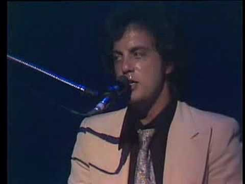 """Billy Joel  performs 'Just the Way You Are"""", 1977."""