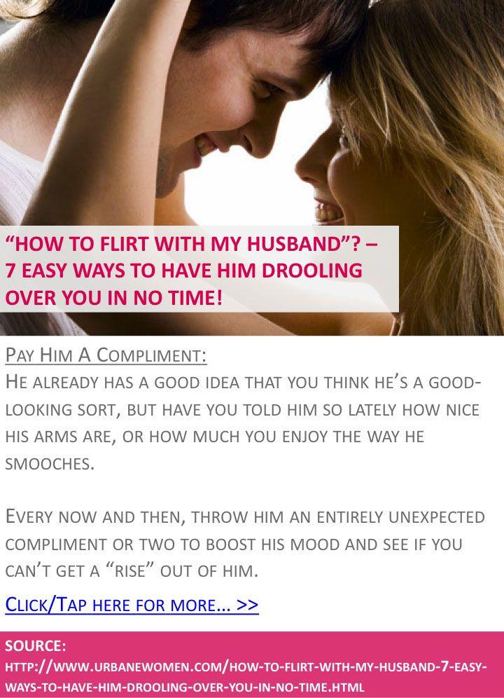 ways to flirt with husband