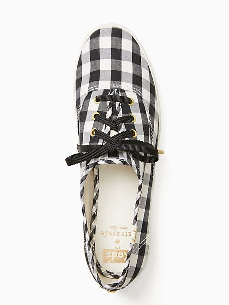 7225d5e8df7 Keds X Kate Spade New York Gingham Champion Sneakers
