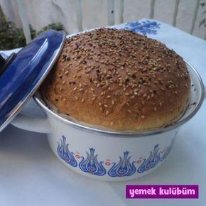 Sütlü Tencere Ekmeği nasıl yapılır, resimli Sütlü Tencere Ekmeği yapımı yapılışı, Sütlü Tencere Ekmeği tarifi