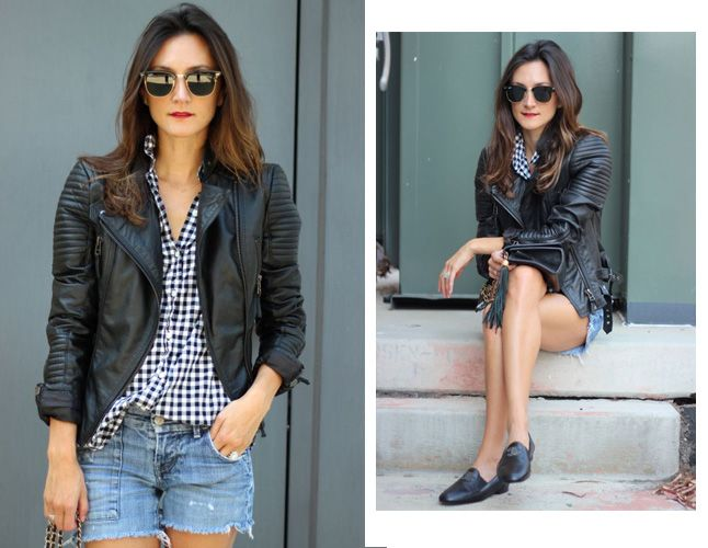 How To Style Your Favorite Leather Jacket - Nicole from Frankie Hearts Fashion