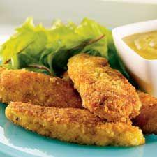 Recette Doigts de poulet croustillant - Coup de Pouce