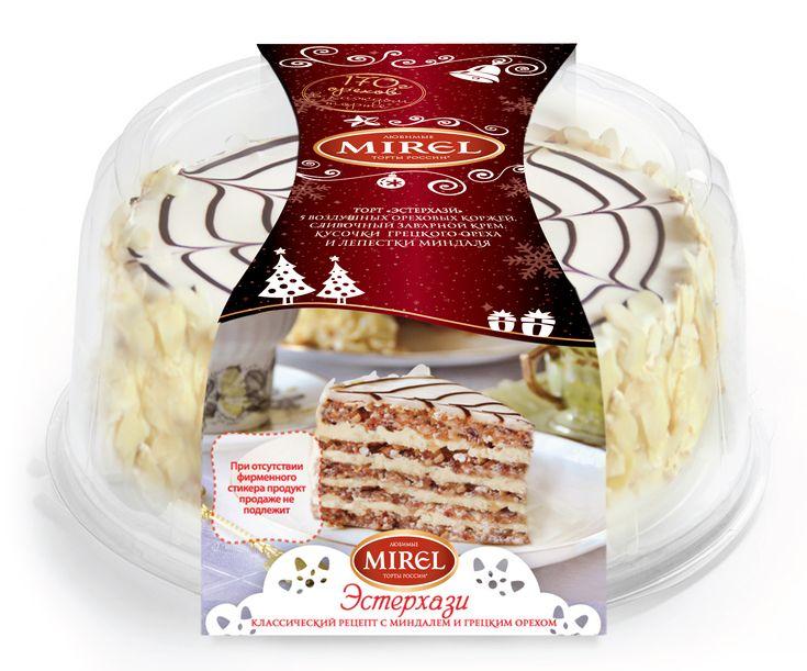 В честь Нового Года торговая марка «Мирэль» подготовила торты в специальной…