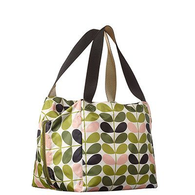 Orla Kiely | USA | bags | SALE - Bags | Tonal Stem Large Box Bag (15AETNS163) | foliage