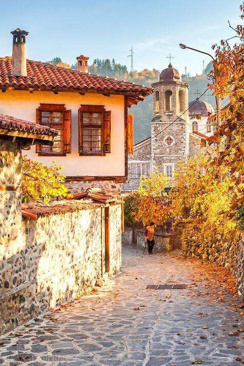 "Църква в Златоград , Zlatograd  (""Goldstadt"") , Bulgarien"
