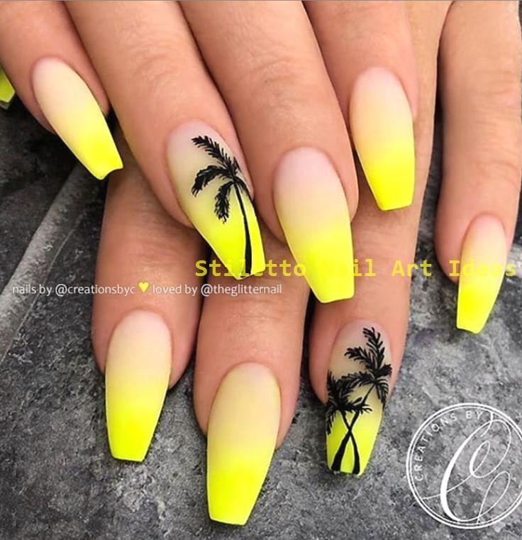 30 große Stiletto Nail Art Design-Ideen 1 #stilettonail #nailart   – Trending Stiletto Nail Art Desings