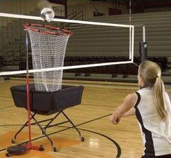 Volleyball Training Equipment - for when I get hardcore into coaching (or maybe Grant can make it for me!)