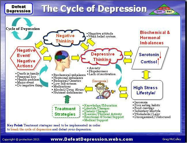 Depression cycle...(grabs hair, screams-I know!! been there! still doing that!)