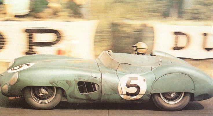 Aston Martin DBR 1 Roy Salvadori (GB) / Carroll Shelby (USA) Résultat: 1° 20-21/06/1959 Course: 24 Heures du Mans