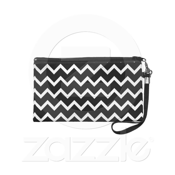 Ziggy  http://www.zazzle.com/black_and_white_zig_zag_pattern_wristlet_purse-223310368321411854?rf=238818103834686250