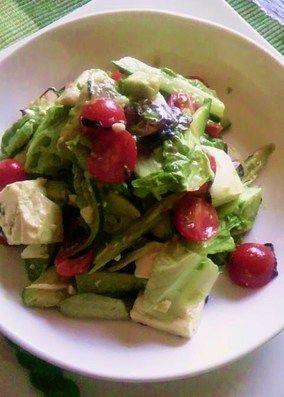 豆腐とアボガドのサラダ&ワサビドレッシング|レシピブログ