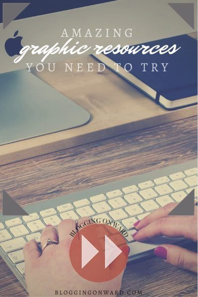 Amazing Graphic Resources You Need to Try http://bloggingonward.com/amazing-graphic-resources-you-need-to-try/