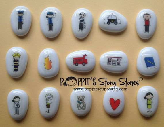 Histoire de Pierre Kit : Helping Hands par PoppitsCupboard sur Etsy