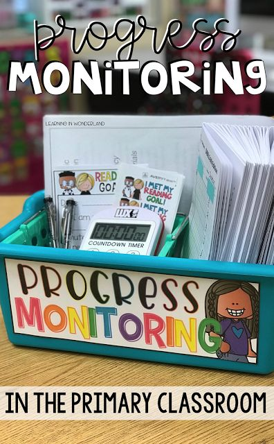 Progress Monitoring in the Primary Classroom - Learning In Wonderland