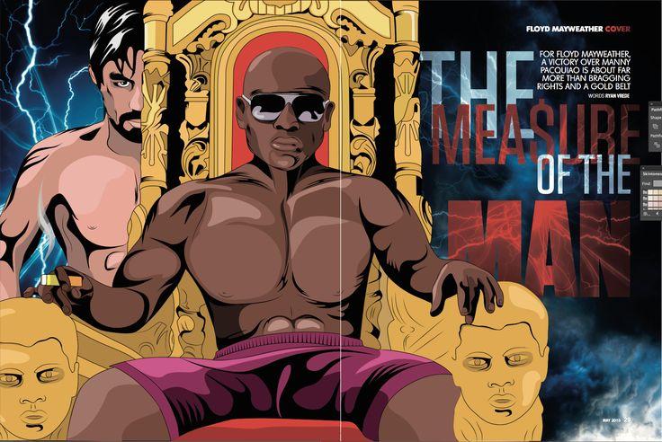Cover Illustration Man magazine back in 2015.