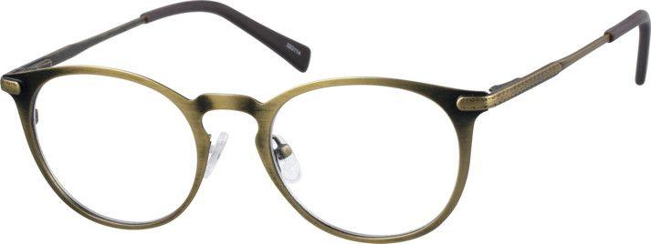 GoldRound Eyeglasses323114