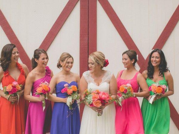 Juniper Colored Bridesmaid Dresses