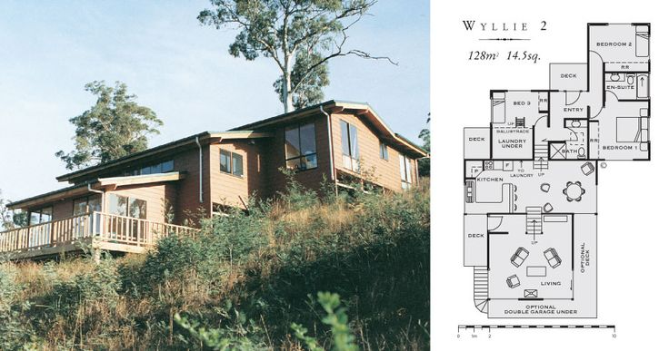 Total kit homes australia 39 s complete kit home i like for Split level kit homes