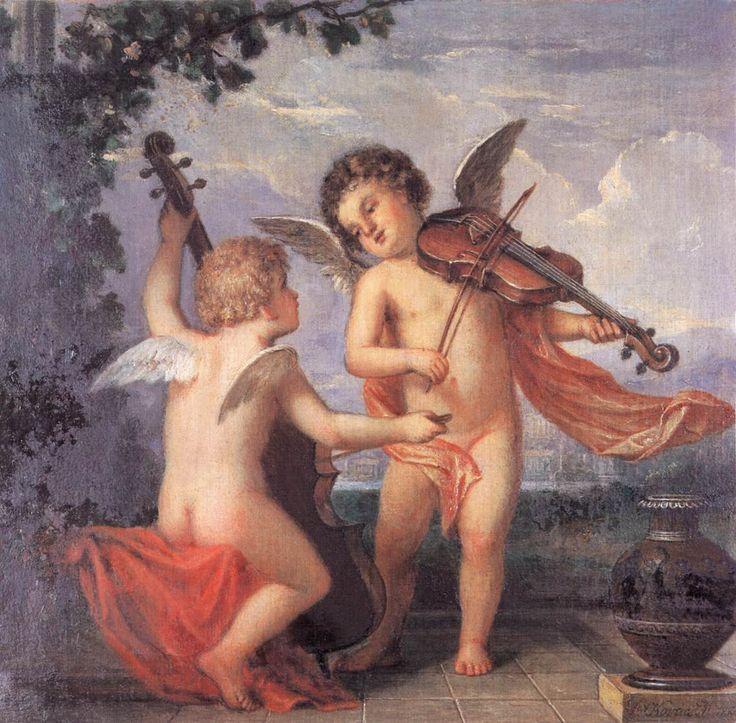 Zenélő puttók (vázlat) 1884 körül.jpg (1138×1118)