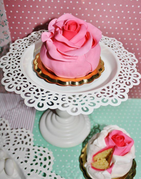 Roses Cup Cakes