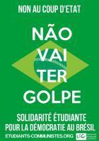 [Tract] Brésil : Non au coup d'Etat !