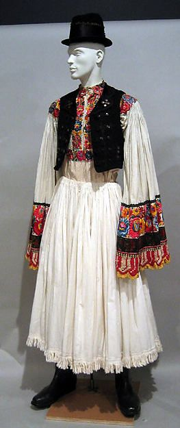 Ensemble Date: first half 20th century Culture: Hungarian (matyó)