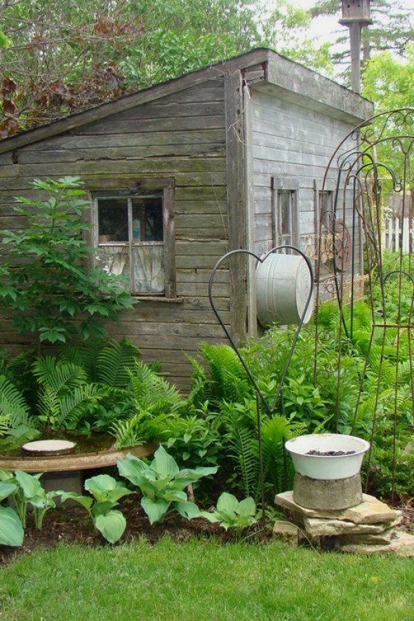 Creative Potting Shed repurposed ideas for your landscaping outdoor - Potting Shed Designs