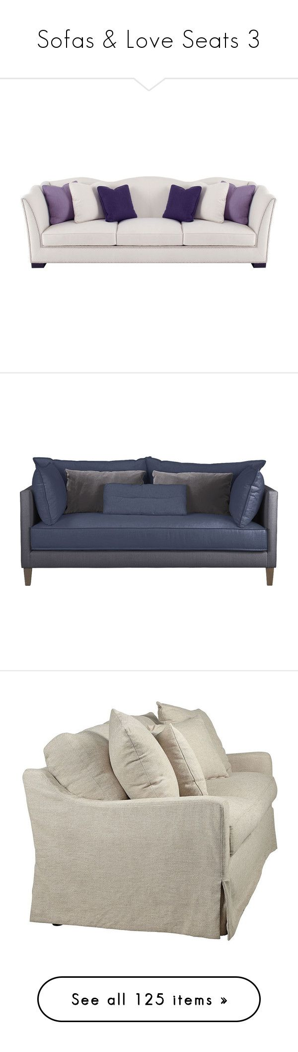 Bernhardt van gogh 2 piece leather sectional ebay -  Sofas Love Seats 3 By Mysfytdesigns Liked On Polyvore Featuring Home