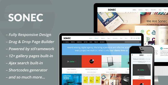 Sonec - Business, Portfolio and Photography Theme - Portfolio Creative