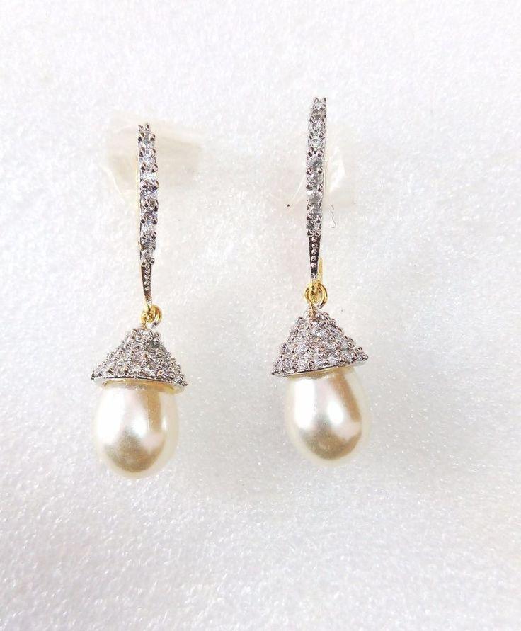 95 best CZ Designer Earrings images on Pinterest Designer earrings