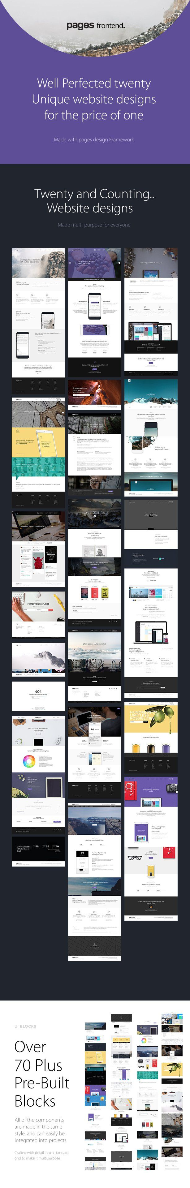 Pages - Multi-Purpose HTML5 Website Template | Website
