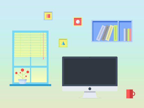 Creative Workspace for Inspiration. by Kruglikov Art Centre on Creative Market