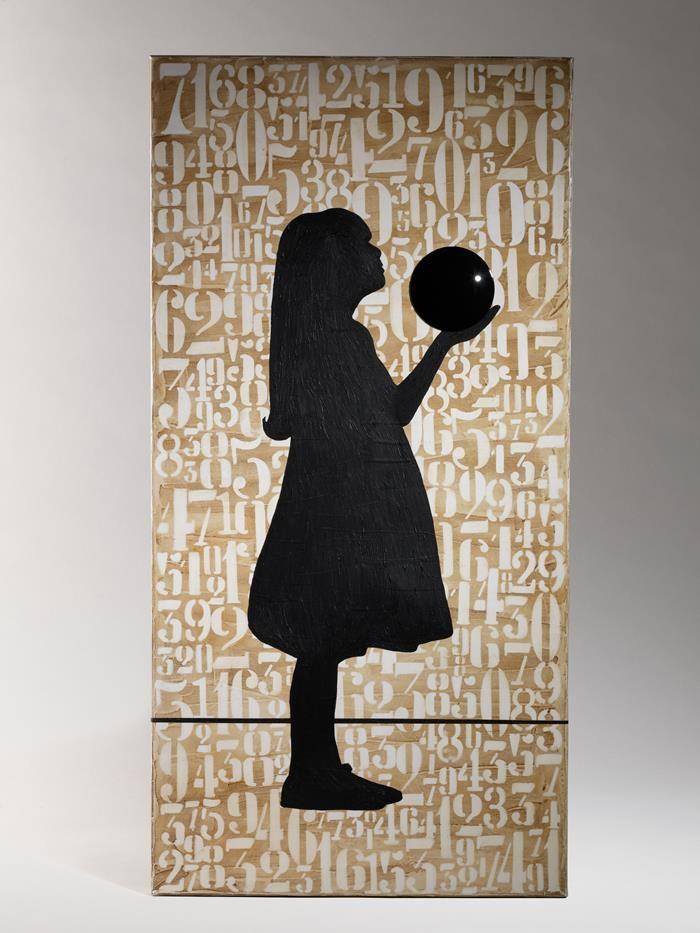 La piccola Alice - Compagnia delle Tele #pannellodesign www.artshoptuscany.com/product/piccola-alice/