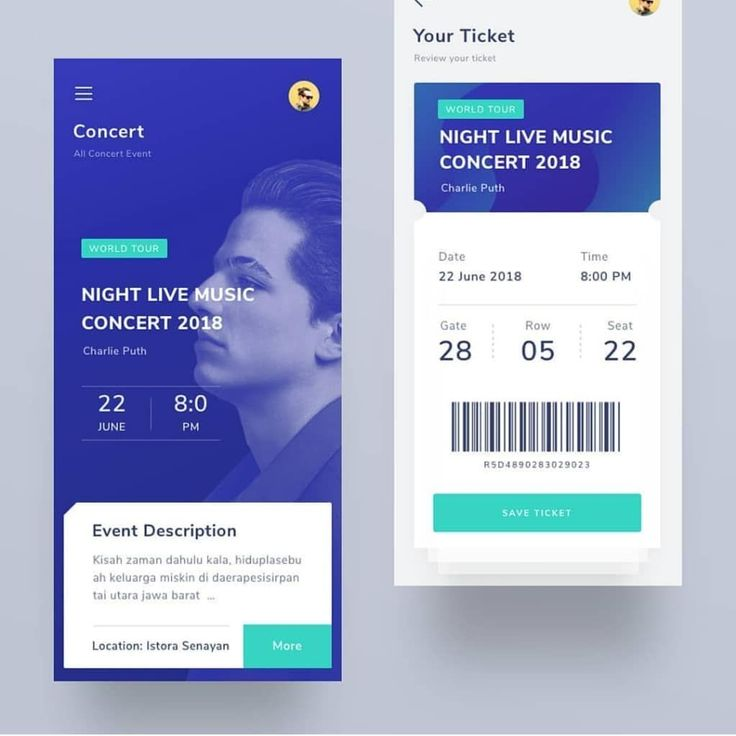 Event Ticketing App by Noriko Kato.design ————————————–…