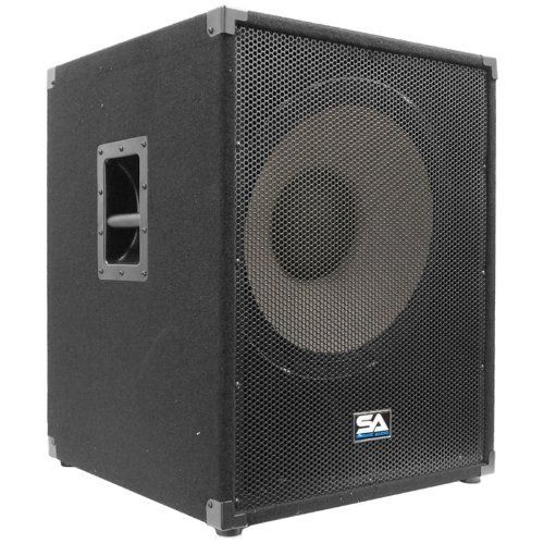 #5: Seismic Audio-Enforcer II PW-Powered PA 18-Inch Subwoofer Speaker Cabinet This is rated as one of the popular selling items in Musical Instruments  category in Canada. Click below to see its Availability and Price in YOUR country.