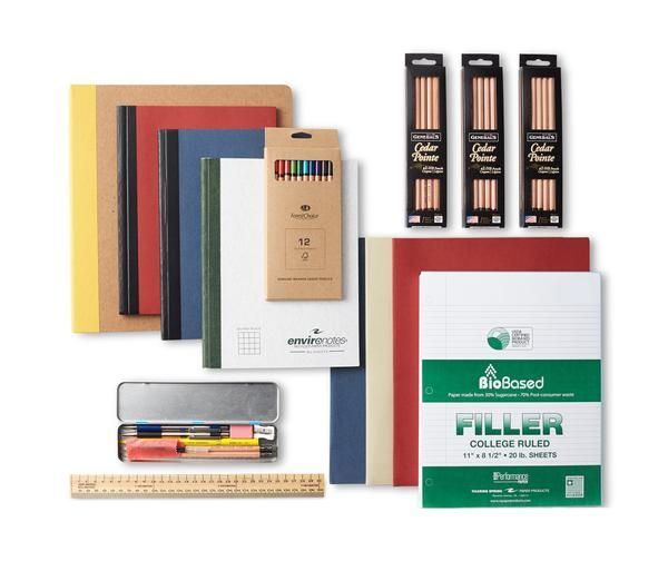 We Went All Out To Assemble The First And Only Authentically Zero Waste Kit Vinyl Free Binder 100 R Eco Friendly School Supplies School Supplies Zero Waste
