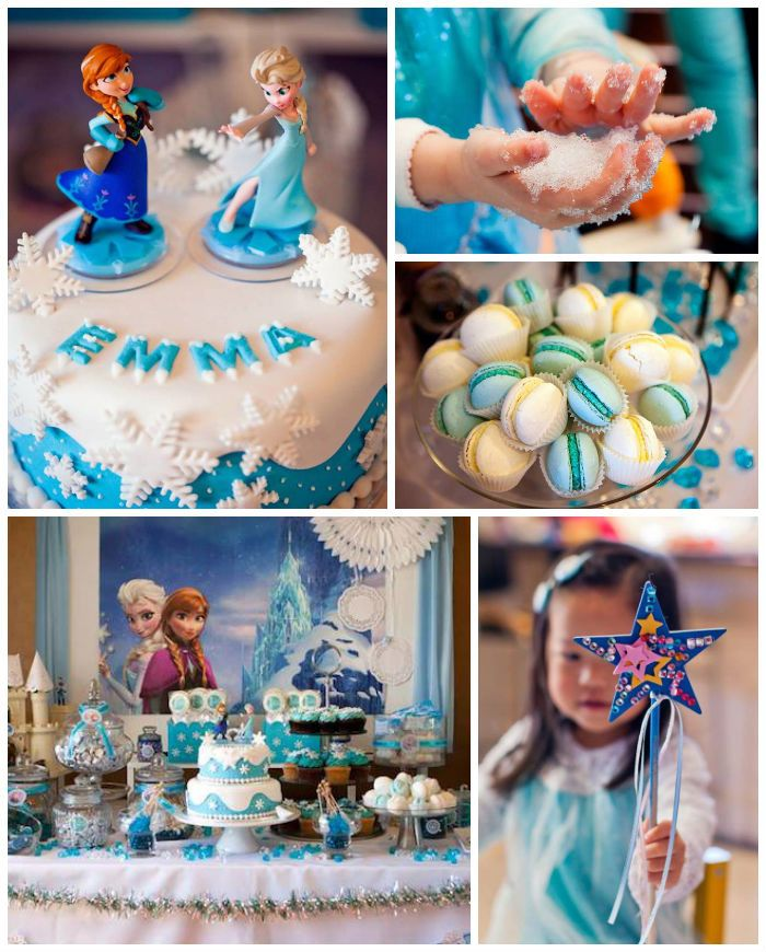 Frozen Birthday Cake Decorations Uk